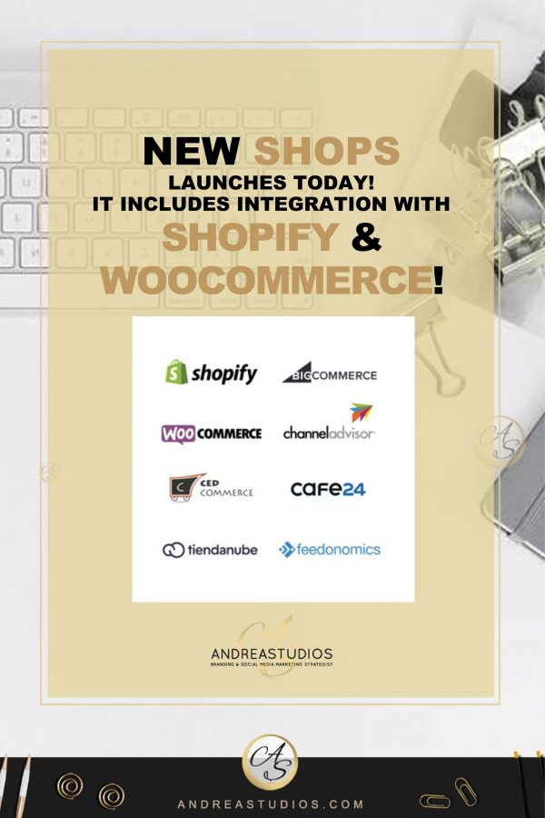 NEW SHOPS for Facebook and Instagram launches today!
